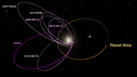 Image: Planet Nine's Orbit.