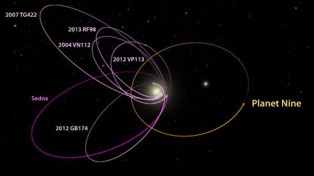 Image: Planet Nine's Orbit.