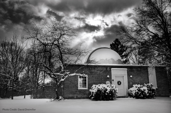 "Photo: ""Solstice Skies over Stephens"" Photo by David Dreimiller."