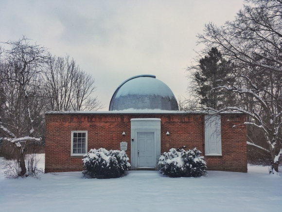 Photo: Stephens Memorial Observatory- February 2018