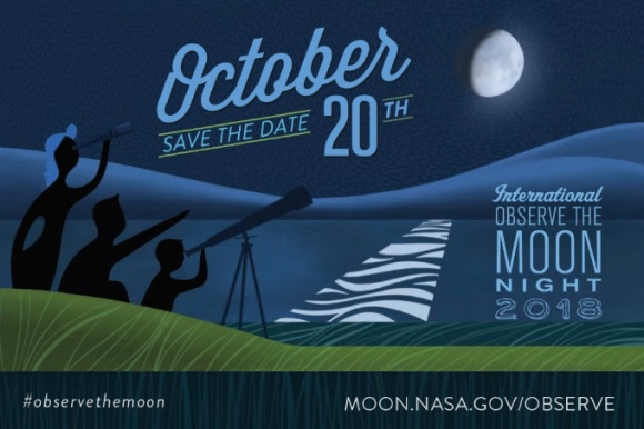 International Observe the Moon Night, October 20, 2018