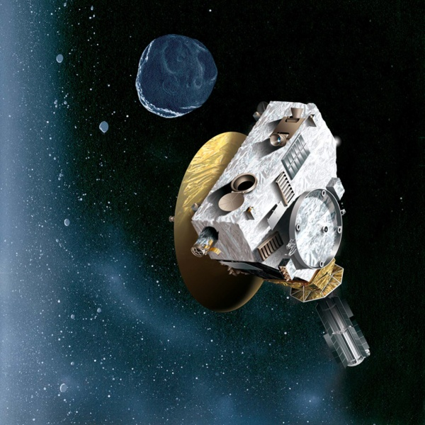 space probe to pluto - 753×574
