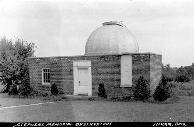 Photo: Stephens Memorial Observatory